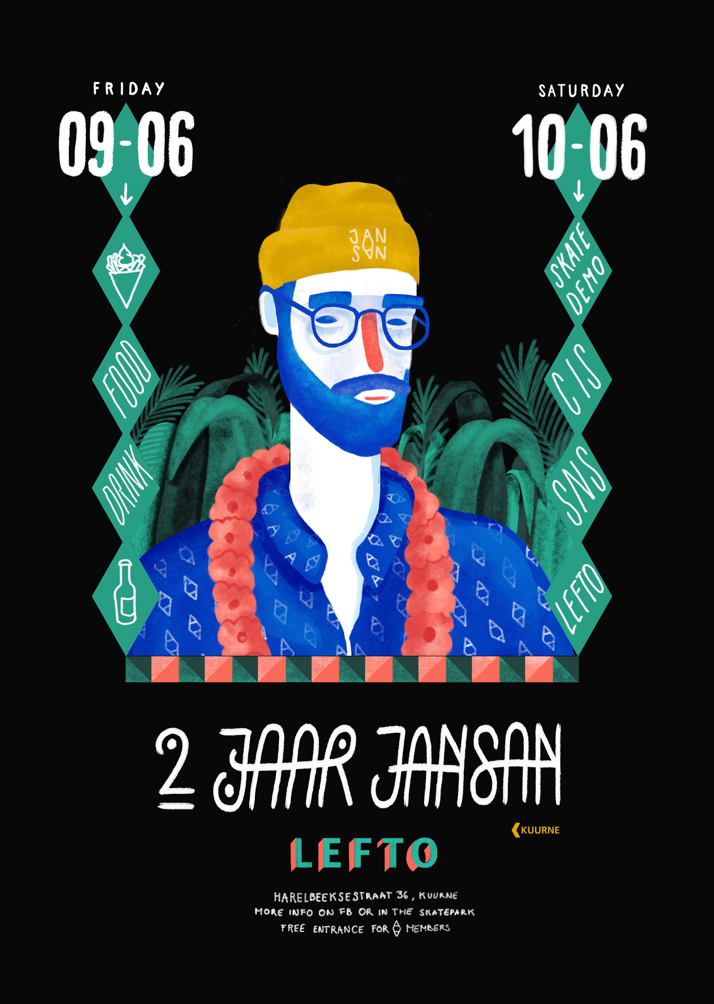 2 jaar jansan | Affiche A3 met baard.jpg