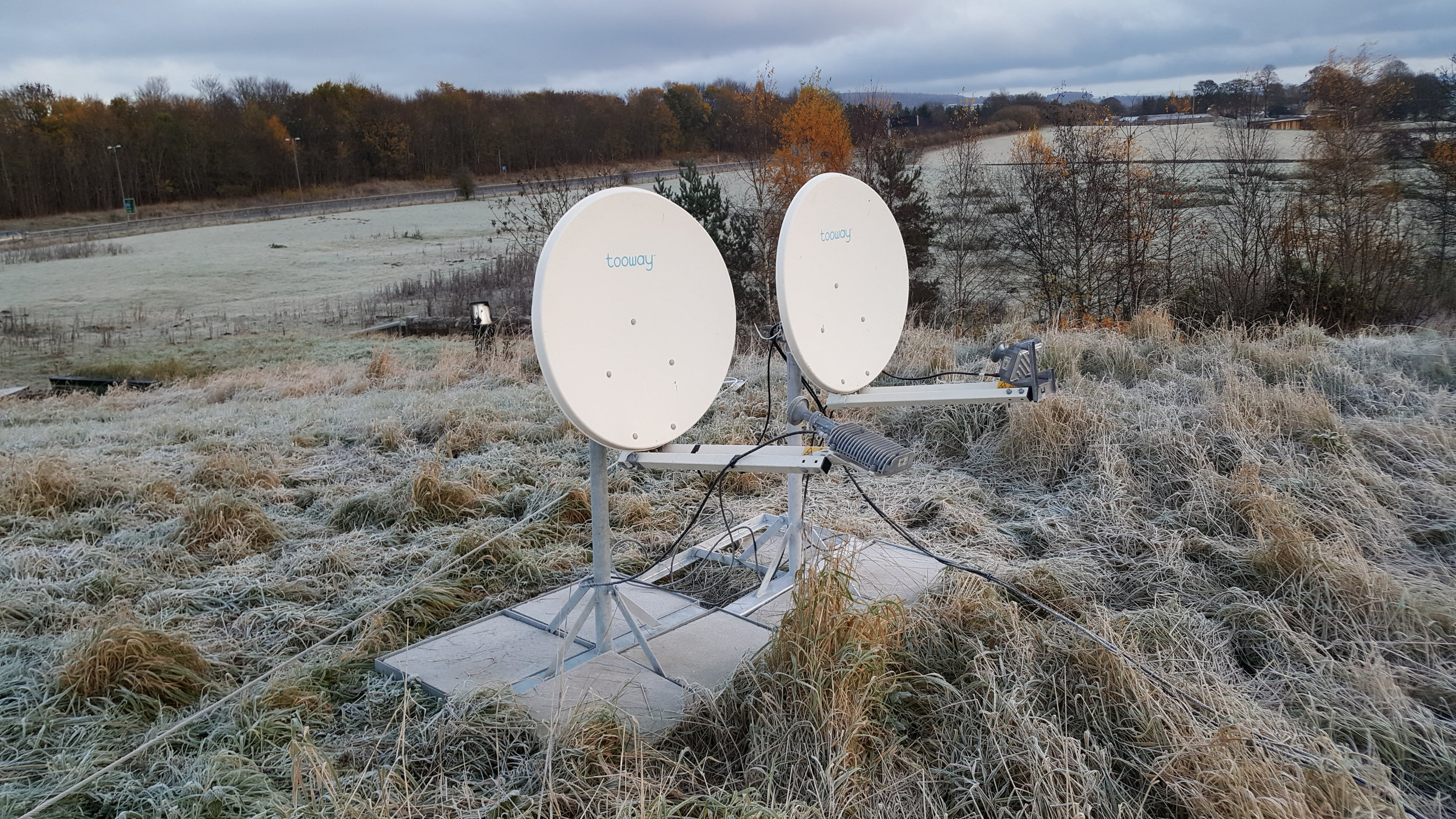 SATELLITE FEEDS: - With 5 flyaway KaSat units available for short-notice day or long-term hire we can have you quickly up and running in remote locations outside mobile coverage areas.