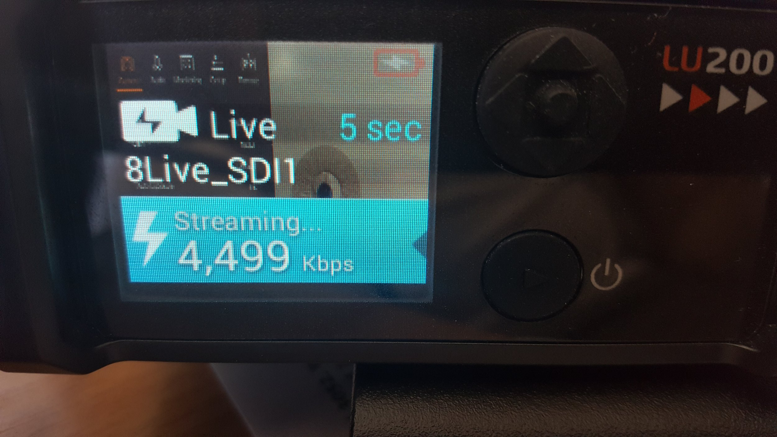 LIVEU UPLINK - We can provide instant live broadcast feeds through our LiveU units. The units have up to six 4G/LTE modems as well as optional KaSat feeds.