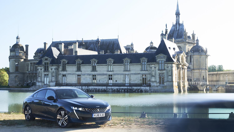The final photogenic stop: Château de Chantilly, near Paris