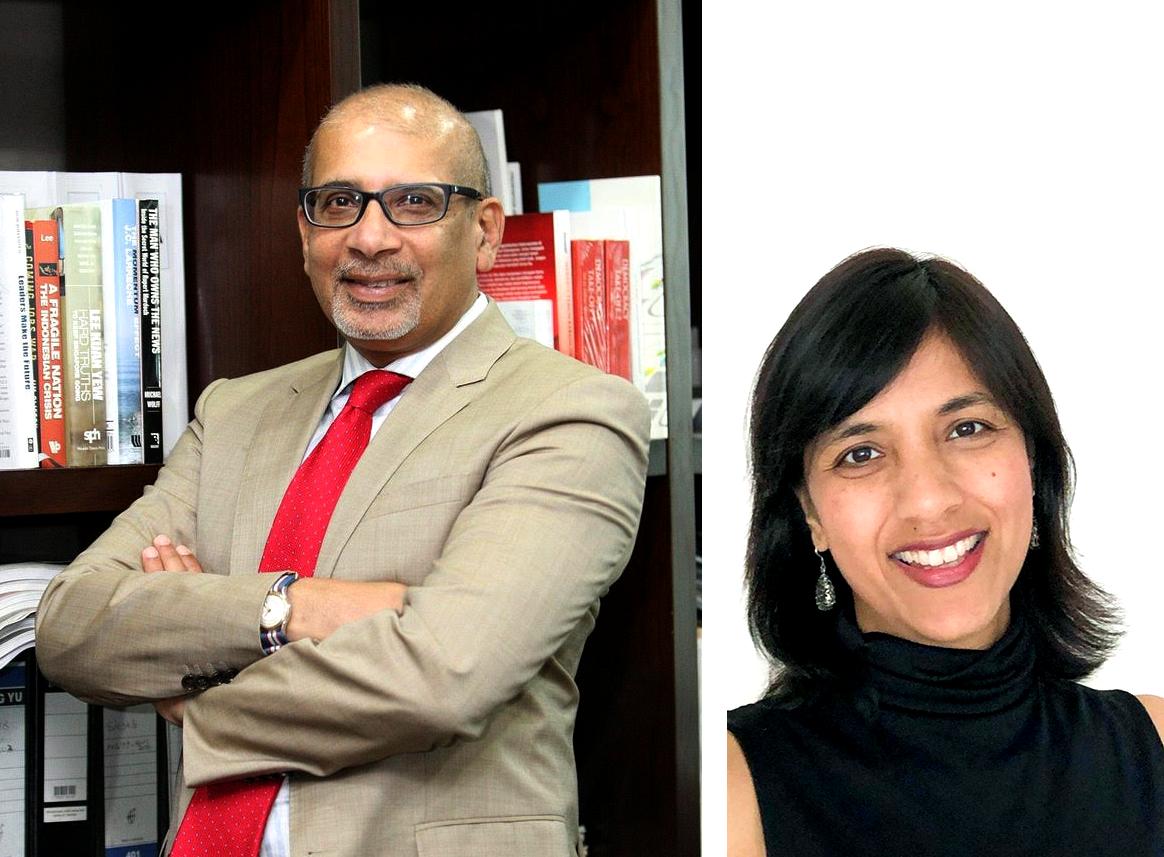 Shoeb Kagda (left) Sheila Jaya Poomy (Right)