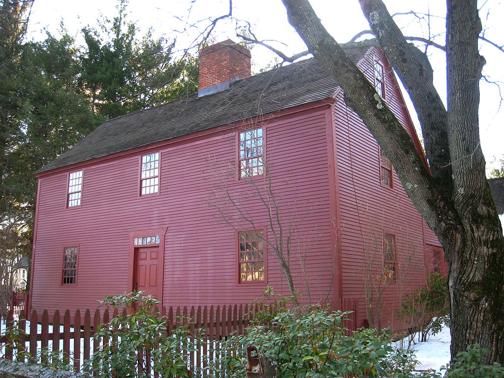 NOAH WEBSTER HOUSE IN WEST HARTFORD CT   By Daderot - Own work, Public Domain