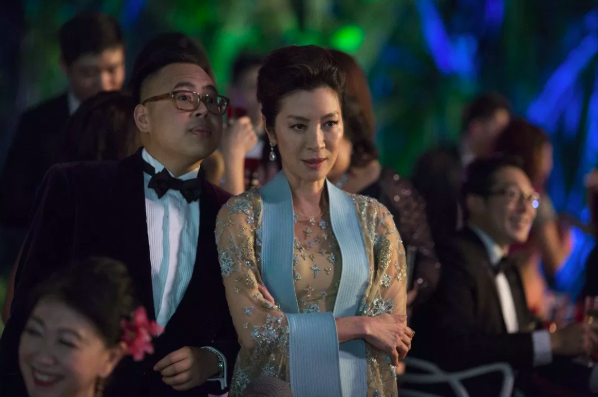 Michelle Yeoh plays Eleanor, Rachel's disapproving potential mother-in-law.