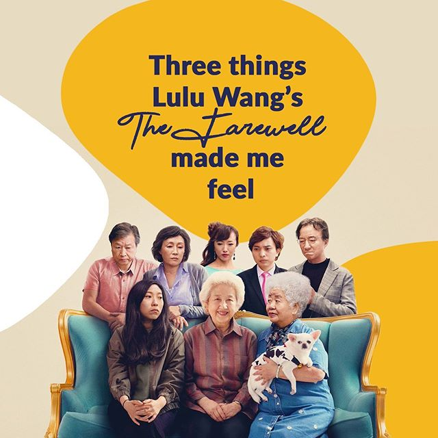 """""""Having a chance to laugh at a slice of our own story validates the liveliness of our stories. Yes, there has been hurt, destruction and pain in our paths, but there is also room for laughter."""" ✨ A review of Lulu Wang's new film from the perspective of a Korean-Australian. Read the full article through our link in bio 🙌🏽"""