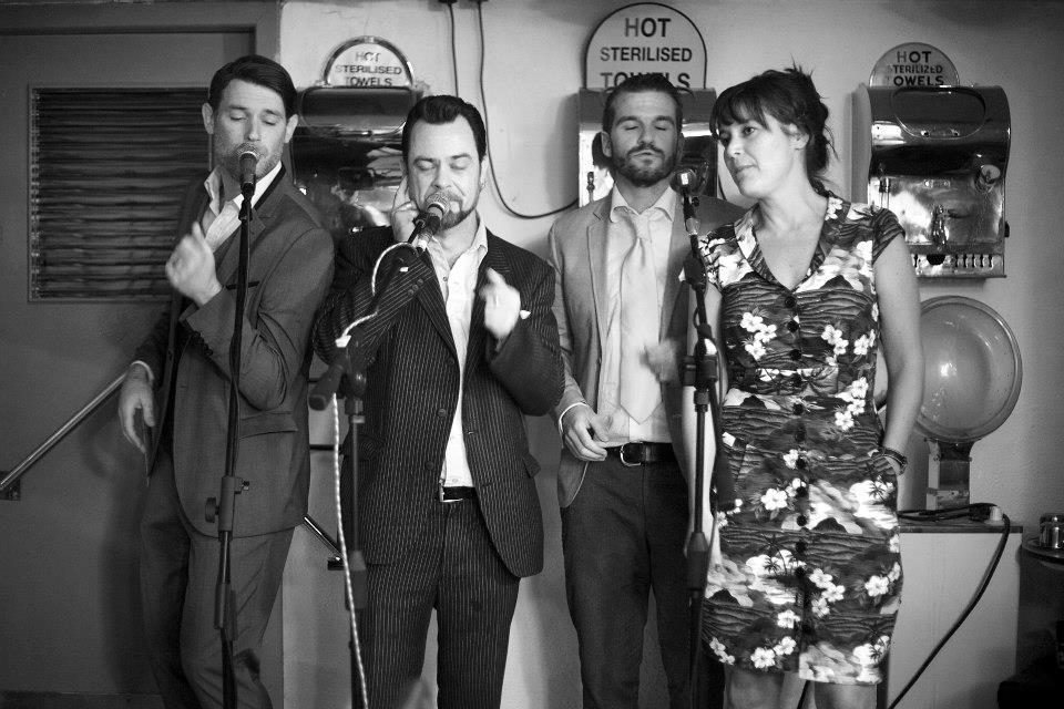 Larkfield Four Rhythm _ Roots Launch Party @ The Waldorf Barbershop.jpg