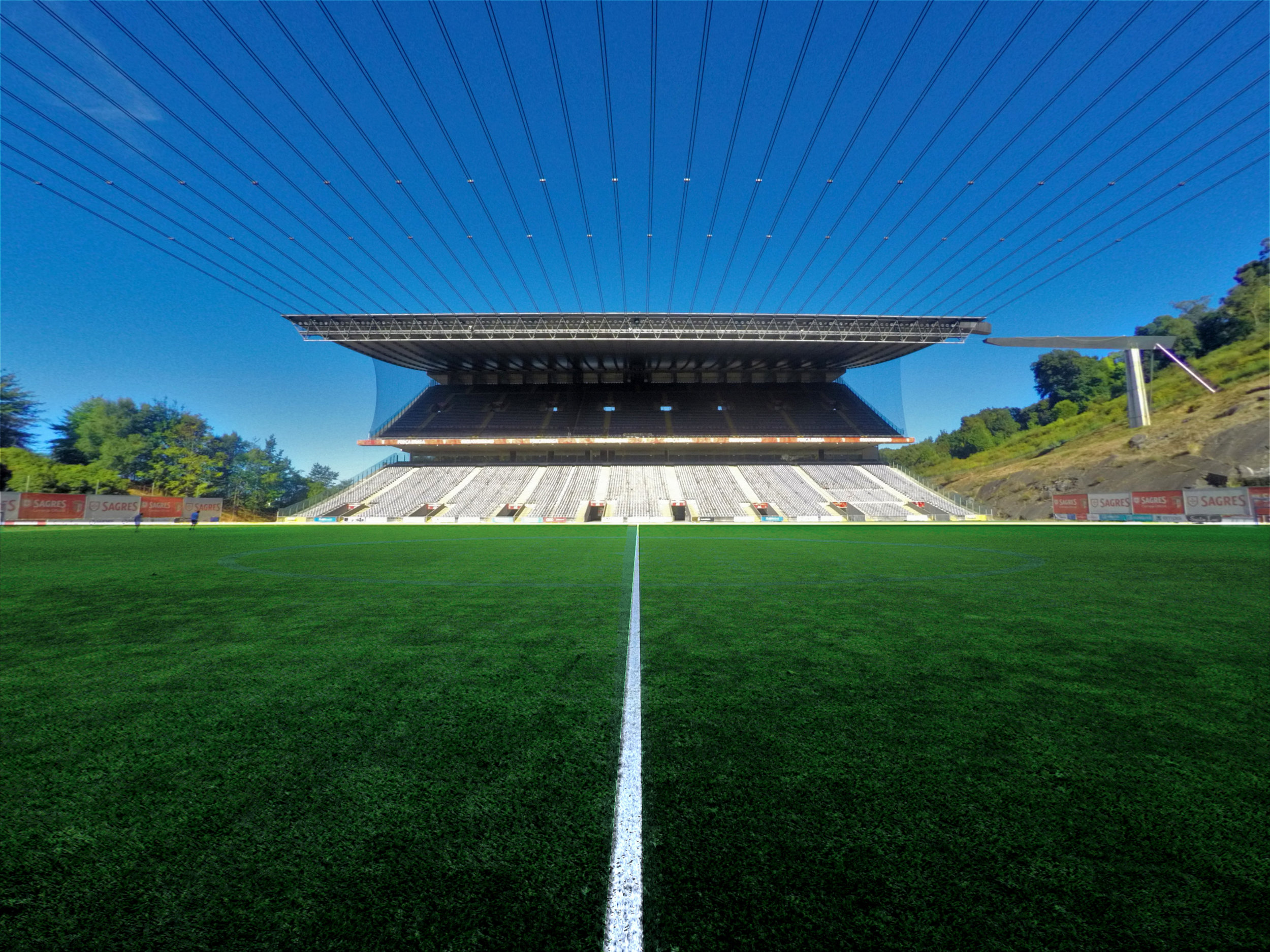 Sporting de braga Stadium - Arch. Souto de Moura / Braga