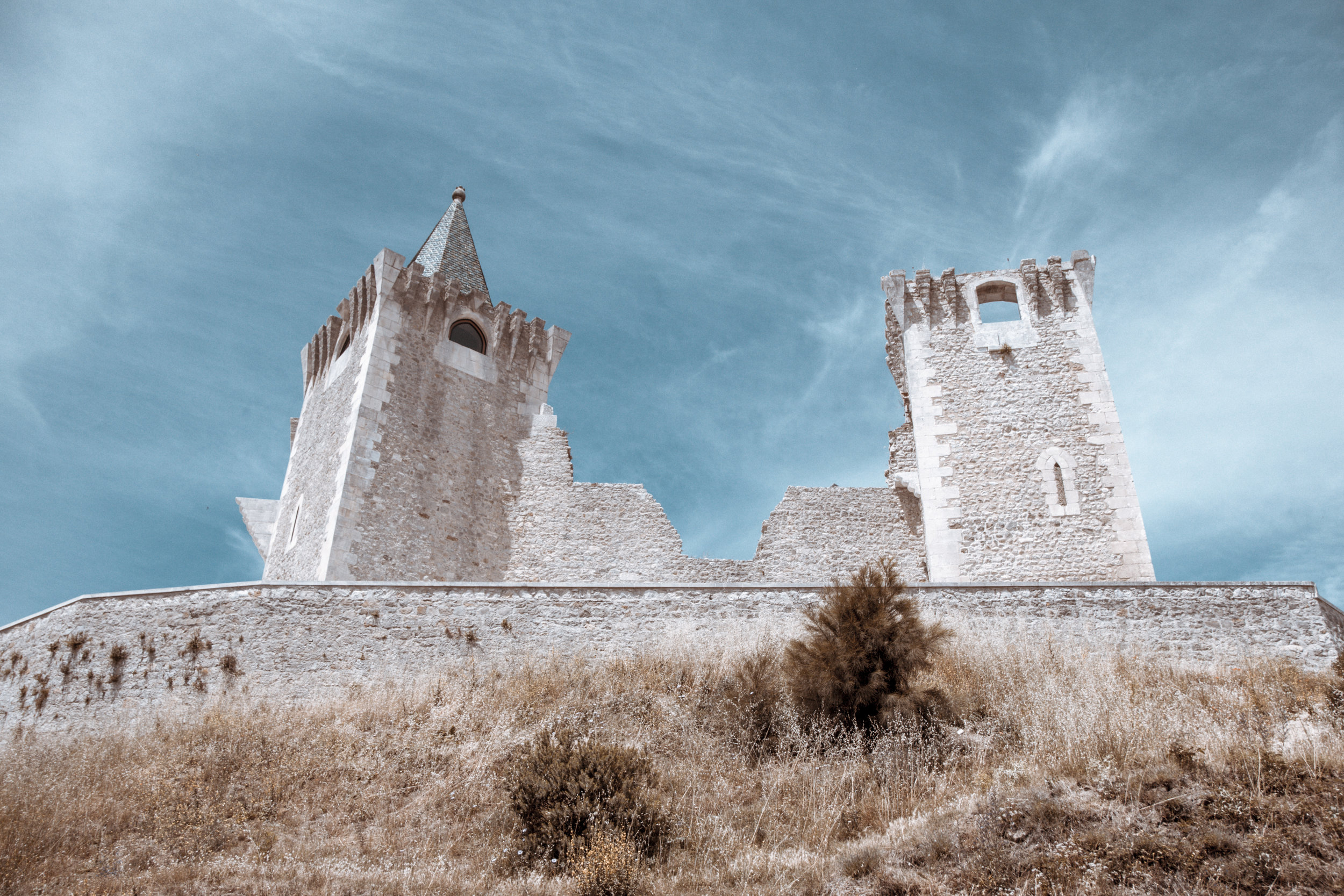 Porto de Mós Castle - Recovering Project by Arch. Domingues Santos Silva
