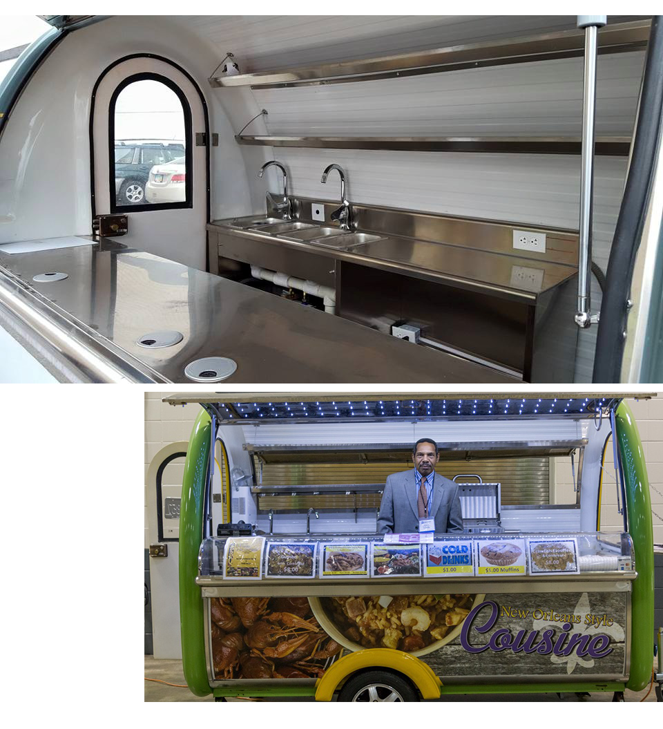 Your custom mobile vending unit—from concept to reality - We are your partner in delivering a mobile vending solution customized for your menu, your operation and, ultimately, your business.Our process ensures a final design that is not only budget-friendly and tailored to your needs, but also efficient & compliant.