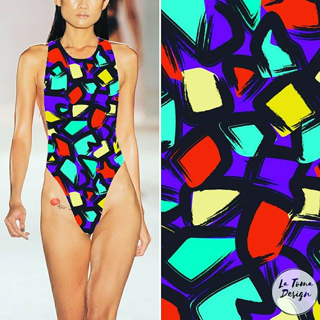 Back to some saturated bold colours for this abstract geo . . . . . . . . . . #abstractpattern #abstractdoodles #abstractdoodles #abstractgeometric #abstractvectorart #vectorpattern #boldpatterns #graffitiinspired #swimwearprint  #fashionprint #fashionprints #latomadesign #surfacedesign #textiledesign #textiledesigner  #surfacepatterncommunity #patternoftheday #textileprint #printdesigner #printandpattern #patterndesign #freelancedesigner #instapattern #patternlover #fabricpattern #fabricdesign #textiledesign #fabricdesigner #surfacepatterndesign #printdesign
