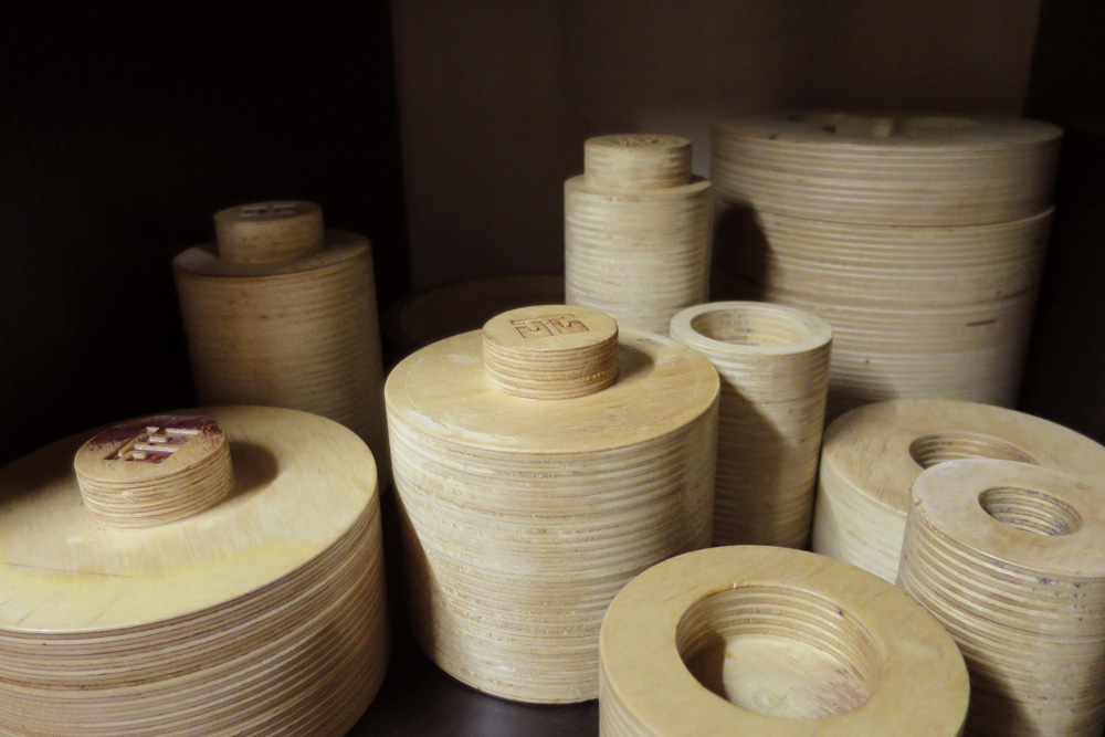 Wooden forms