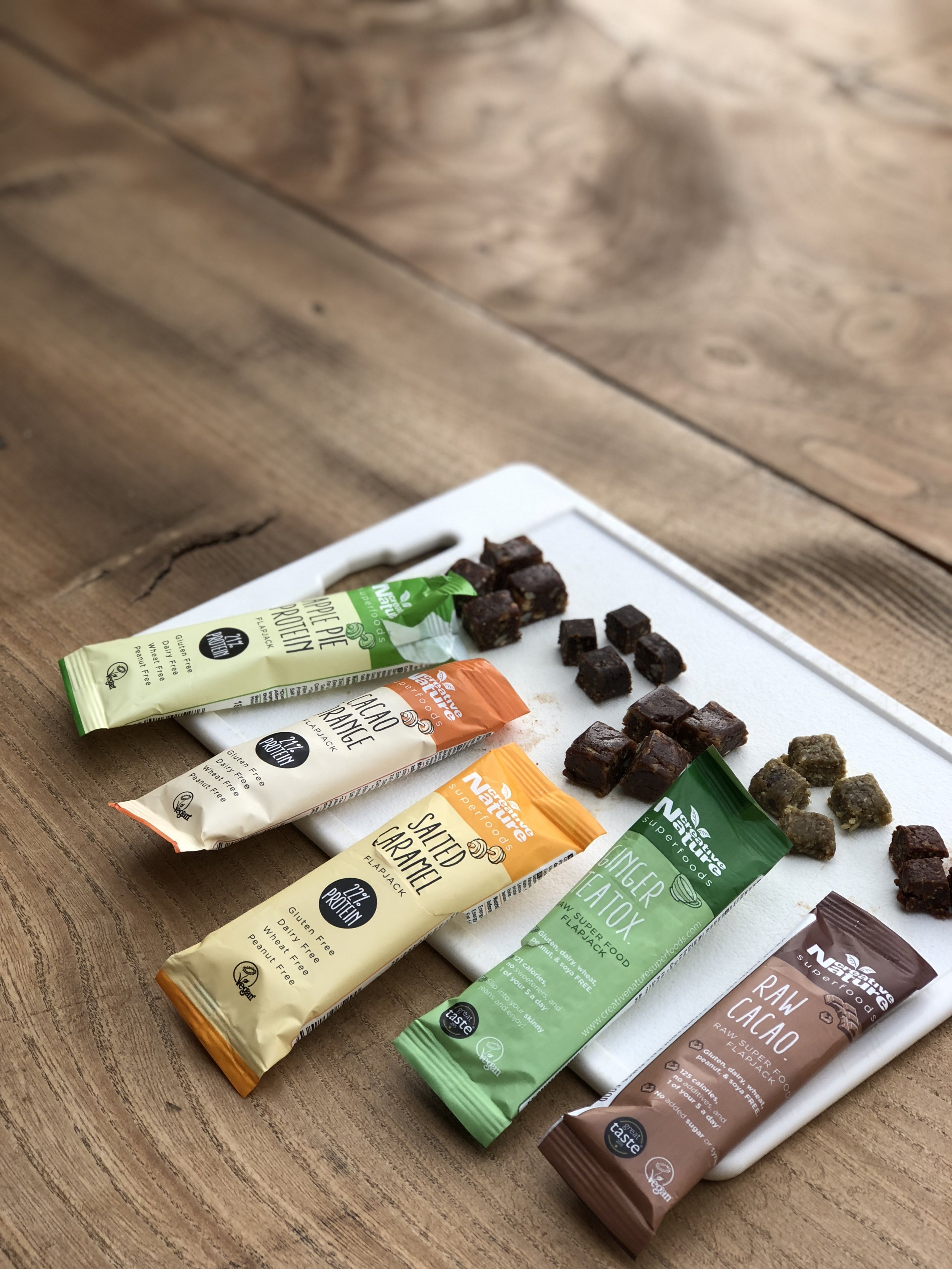 Creative Nature Superfoods Bars raw nut-free dairy-free