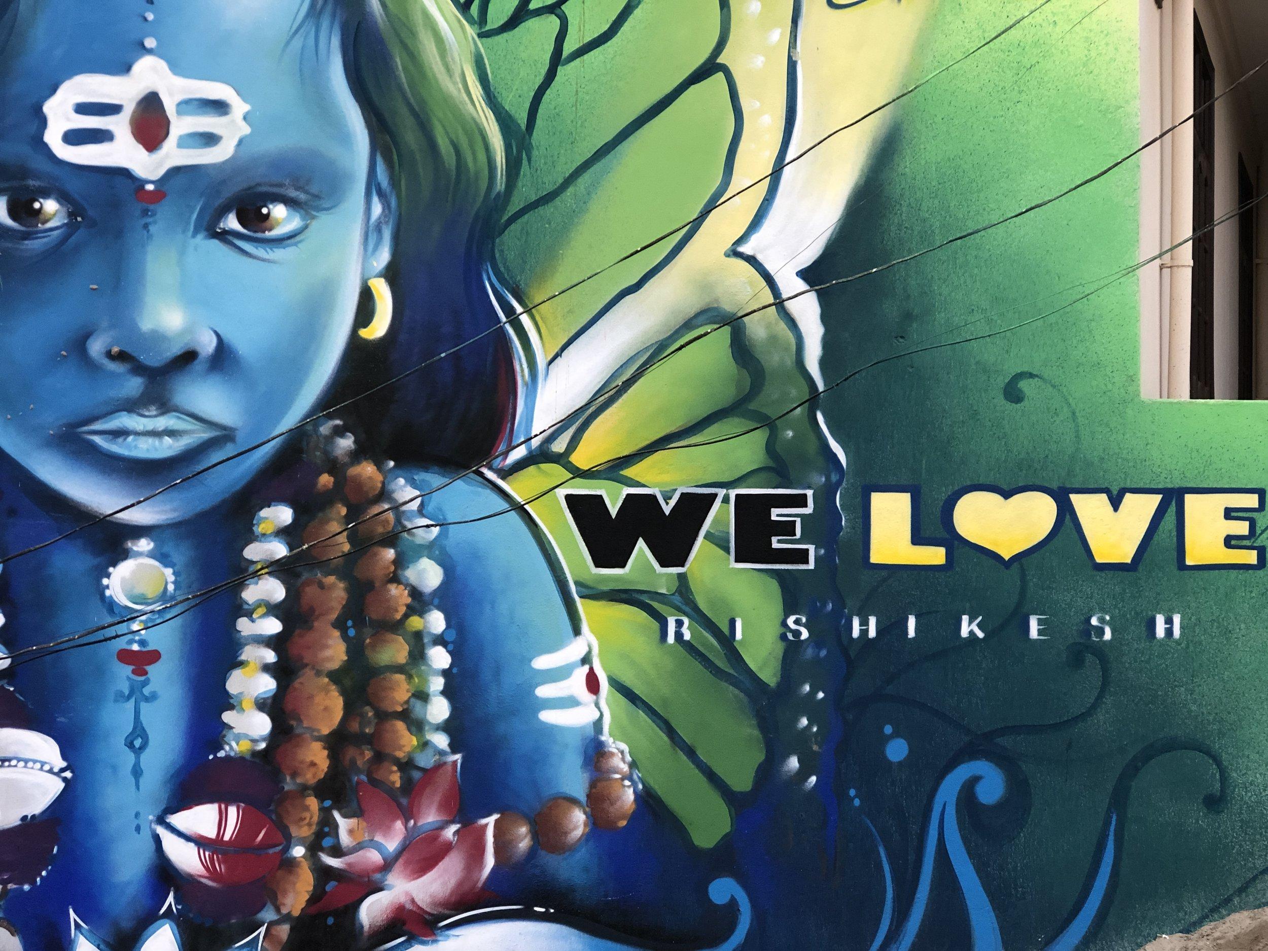 Rishikesh Retreat Shiva Wall Art