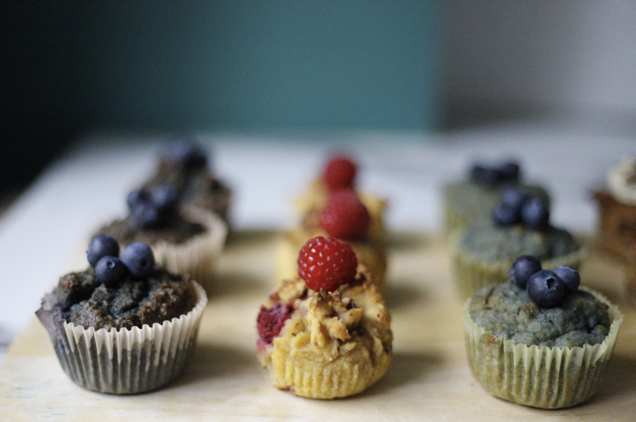 raspberry cupcakes: more recipes on Instagram @yogifoodiefitty and @victoriaadams