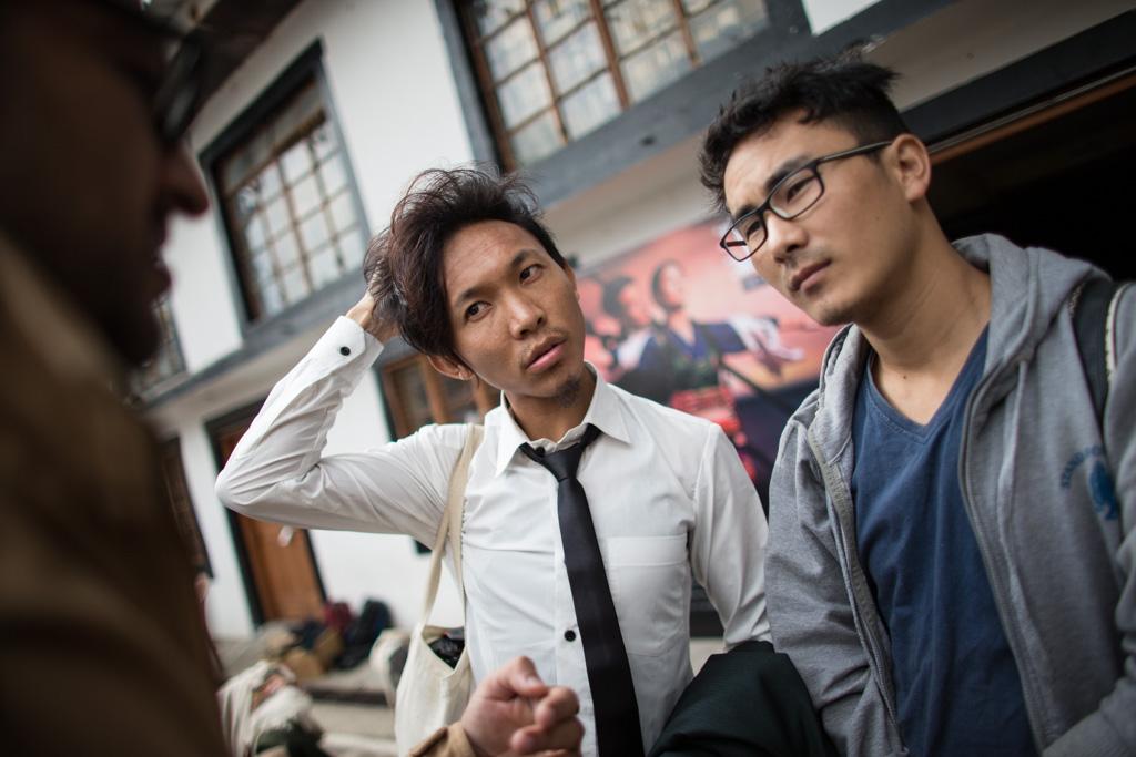Short Film Competition Winners Tenzin Phuljung and Tenzin Takhla