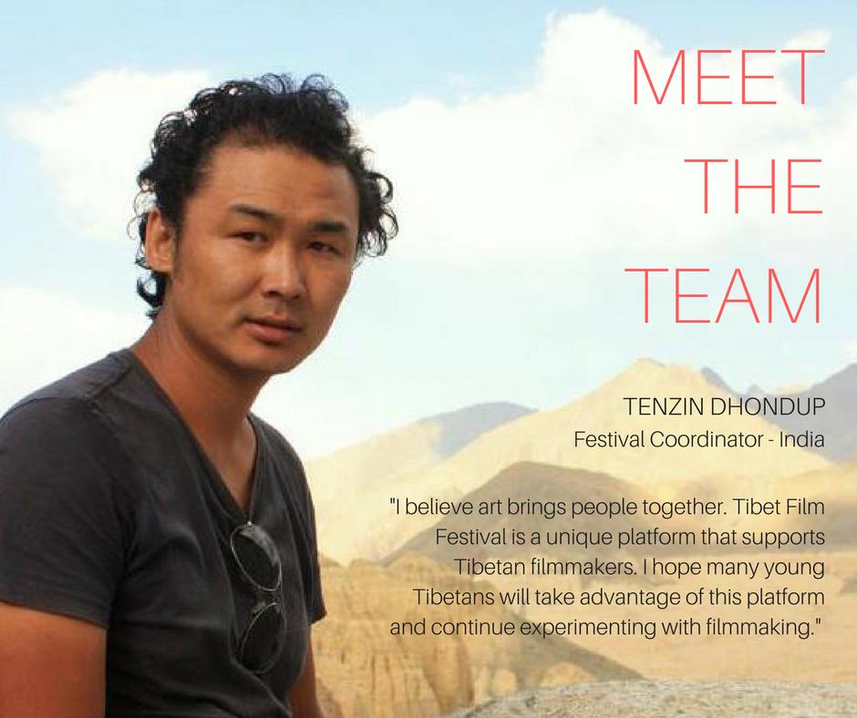 Tenzin Dhondup,Festival Director Dharamsala -