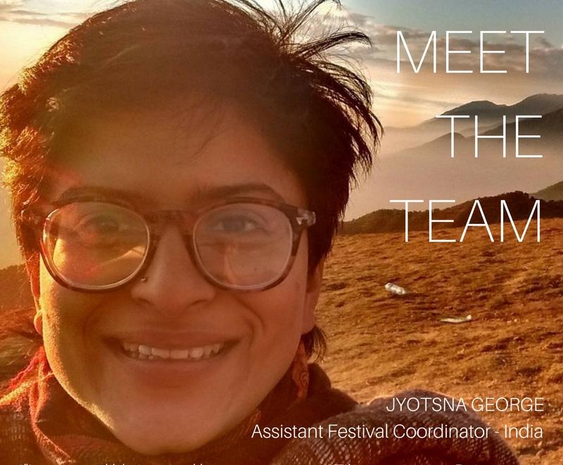 Jyotsna George,Festival Coordinator Dharamshala -