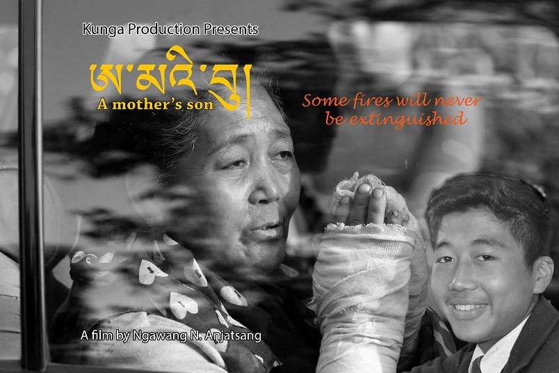 """A Mother's Son Sonam Anjatsang   2016   England/India   70'   Doc.   Tibetan and English with English Subtitles   """"A Mother's Son"""" is a sensitively directed film on the controversial tactic of self-immolation. It analyses how Dorjee Tsering, a 16 year-old, set himself on fire to try to get the world to focus on the terrible situation in Tibet. It includes interviews with family members, and footage of Dorjee."""