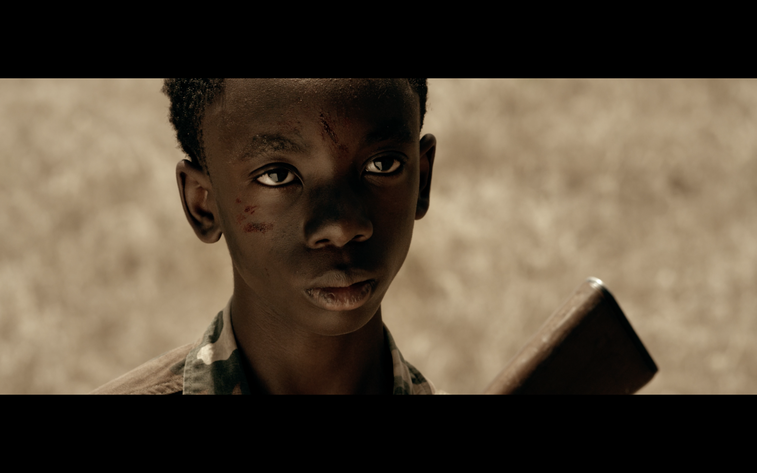 Born in Battle Yangzom Brauen | 2015 | USA | 20' | Drama | English   Born In Battle tells the story of a former child soldier. Oneka, 12 years old, has escaped the clutches of the rebel soldiers. In order to overcome his past, he creates himself a fantasy world, far away from his oppressive life circumstances. The life he is looking for disappears the more he tries to capture it. Born In Battle has won several awards at the Fribourg International Film Festival. Yangzom Brauen directed and wrote the script.