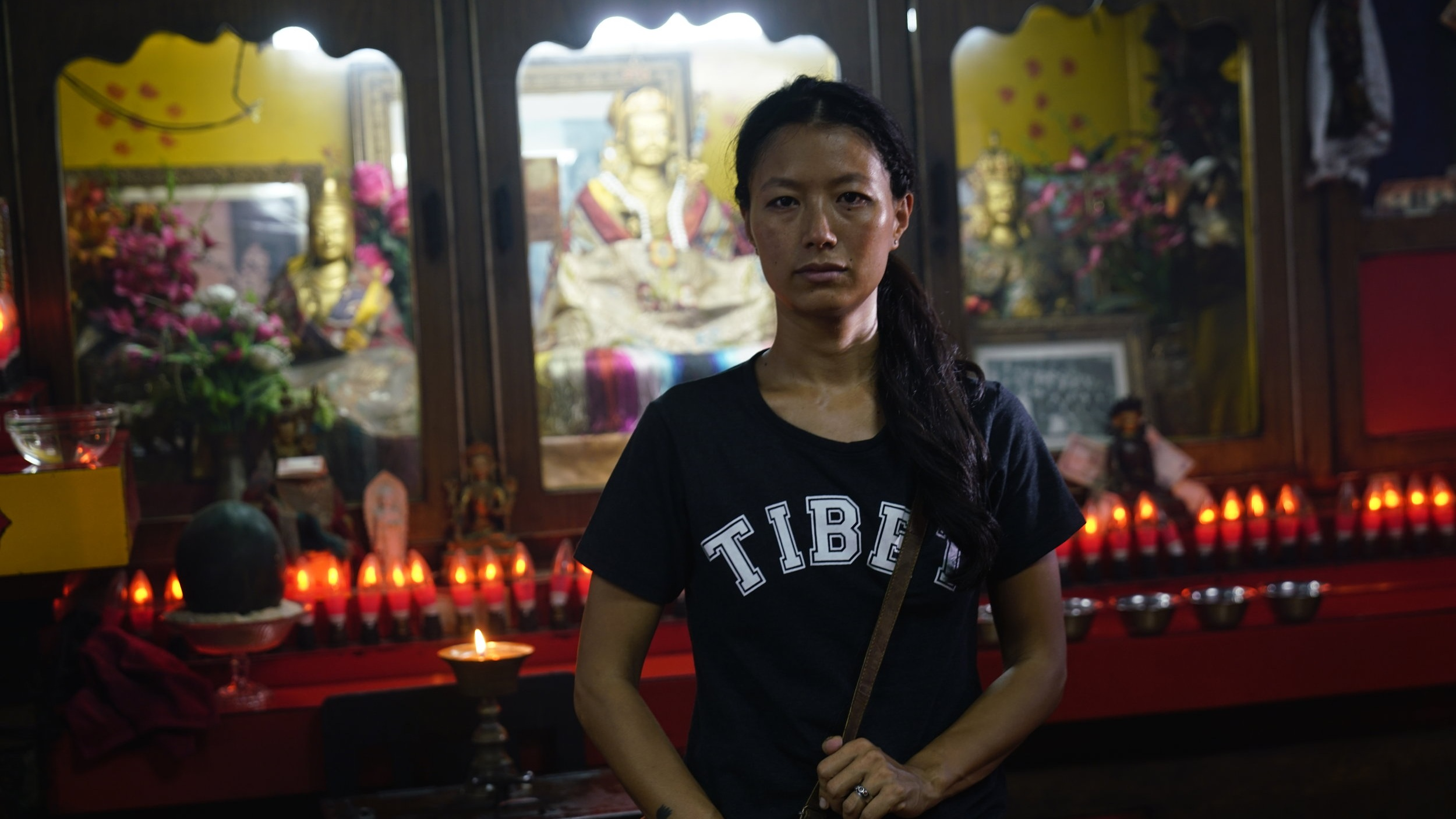 The Sweet Requiem Tenzing Sonam, Ritu Sarin   2018   India, USA   91'   Drama   Tibetan with English Subtitles Script: Tenzing Sonam Actors:    Lhakpa Tsering   ,    Jampa Kalsang   ,    Tenzin Dechen   , and others.     WATCH THE TRAILER    At the age of 8, Dolkar and her father flee their homeland in Tibet. An arduous journey through the Himalayas follows. The now 26-year-old Tibetan exile lives in a Tibetan refugee colony in Delhi, India, where an unexpected encounter with a man from her past reveals long suppressed memories and drives Dolkar on an obsessive search for the truth.