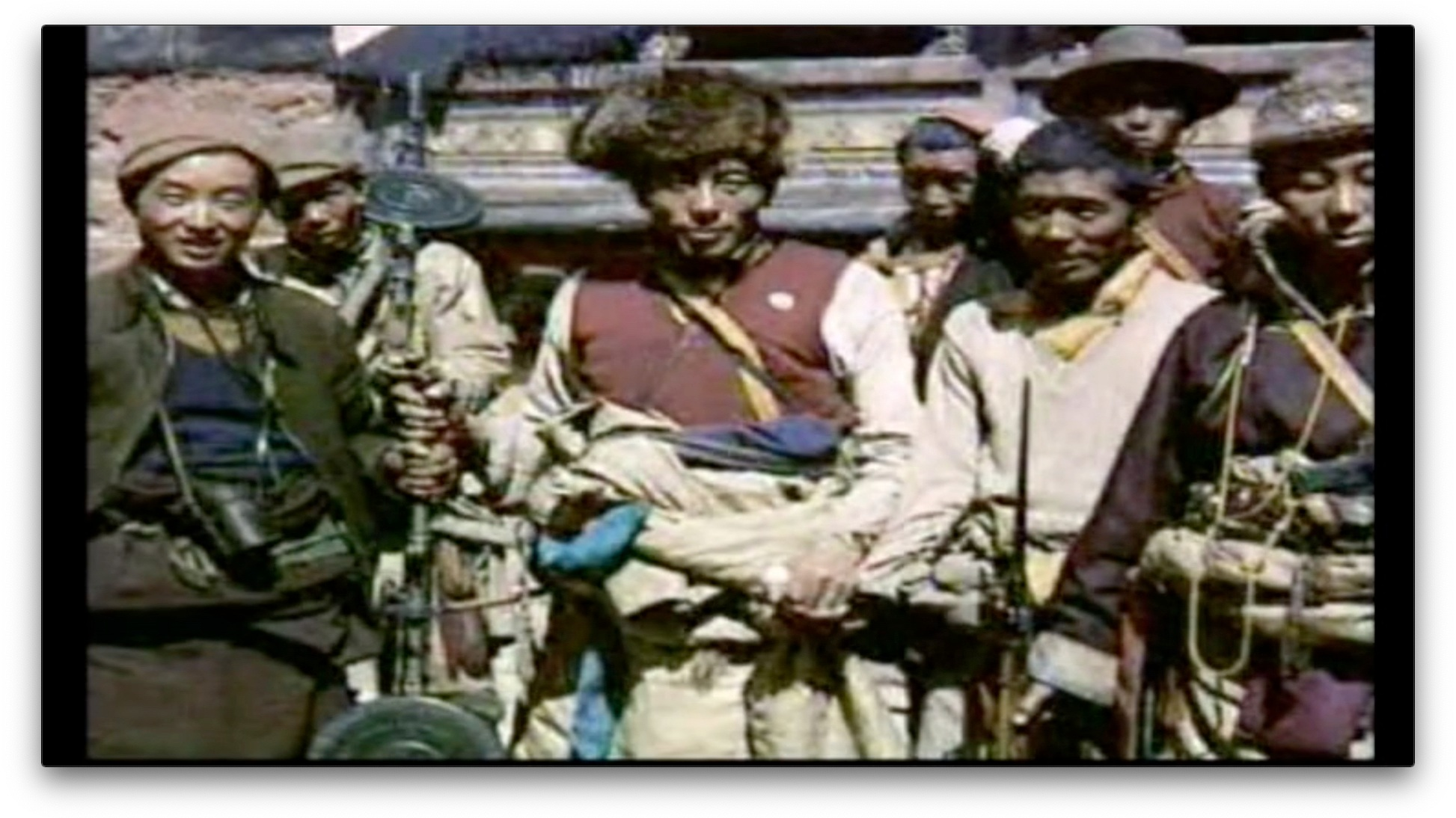 Tibetan guerrillas in Exile Kalsang Rinchen   2008   India   30'   Documentary   Tibetan with English Subtitles Screenplay: Kalsang Rinchen Actors: various    Trailer    Tibetan resistance to the Chinese occupation is associated with the Dalai Lama, Buddhism and non-violence. But there was also a Tibetan guerilla army. Their formation took place within the Indian military and with the support of the CIA. In 1964 it was moved to the Indo-Tibetan border area and they waited for years in vain for orders to attack. Contemporary witnesses tell impressively of their experiences.