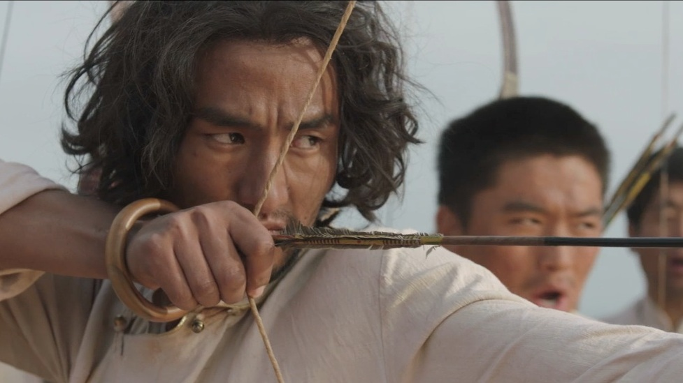 The Sacred Arrow Pema Tseden | Tibet | 2014 | 96' | Drama | Tibetan with English Subtitles   The Sacred Arrow is a love drama from a picture book. Two villages that have been rival for years meet every year for an arrow bow tournament. The winner deserves fame and glory. A forbidden love brings different problems to light and the village peace in danger. Beautiful Tibetans from Amdo, intense colours and a simple plot make this film an experience for the whole family.