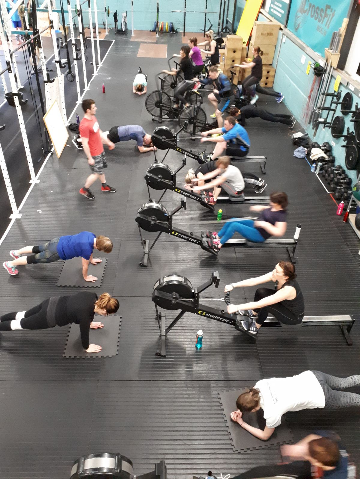We do HIIT classes, Pump and Sculpt, EMOM and Stretch Sessions - No previous experience required, all welcome, members and non-members. Please book class below. 8 Euro per class for a drop - in.