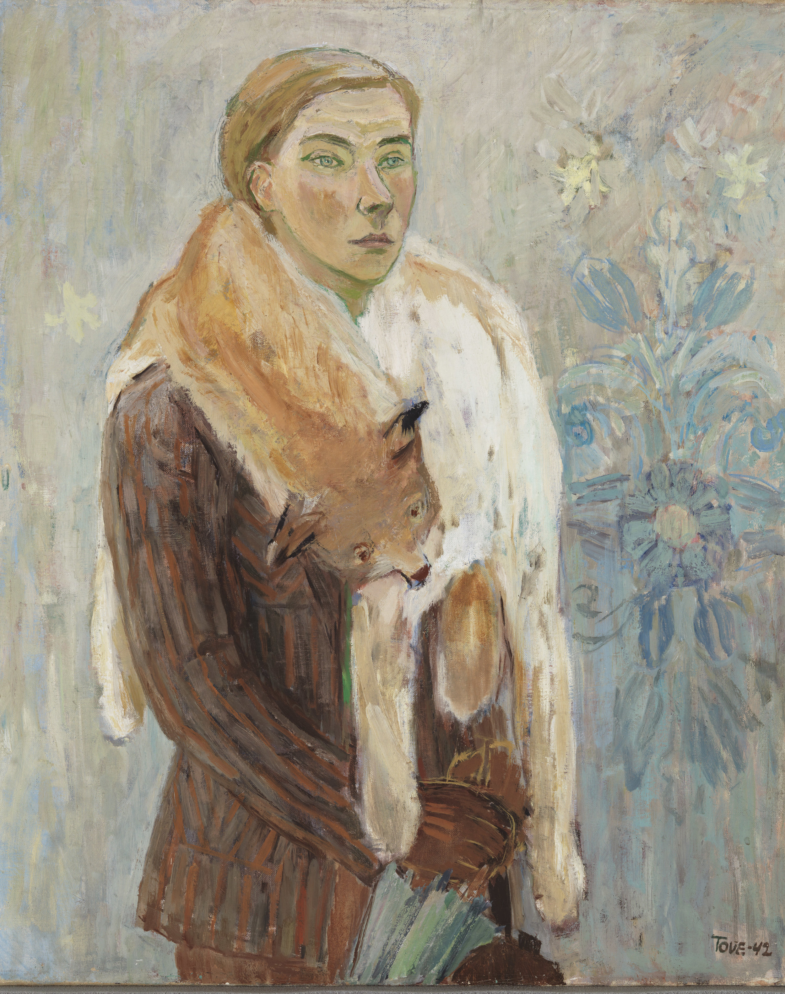 Loboan (Selvportraet) , Tove Jansson, 1942. Billede: Finlands Nationalgalleri, Yehia Eweis.