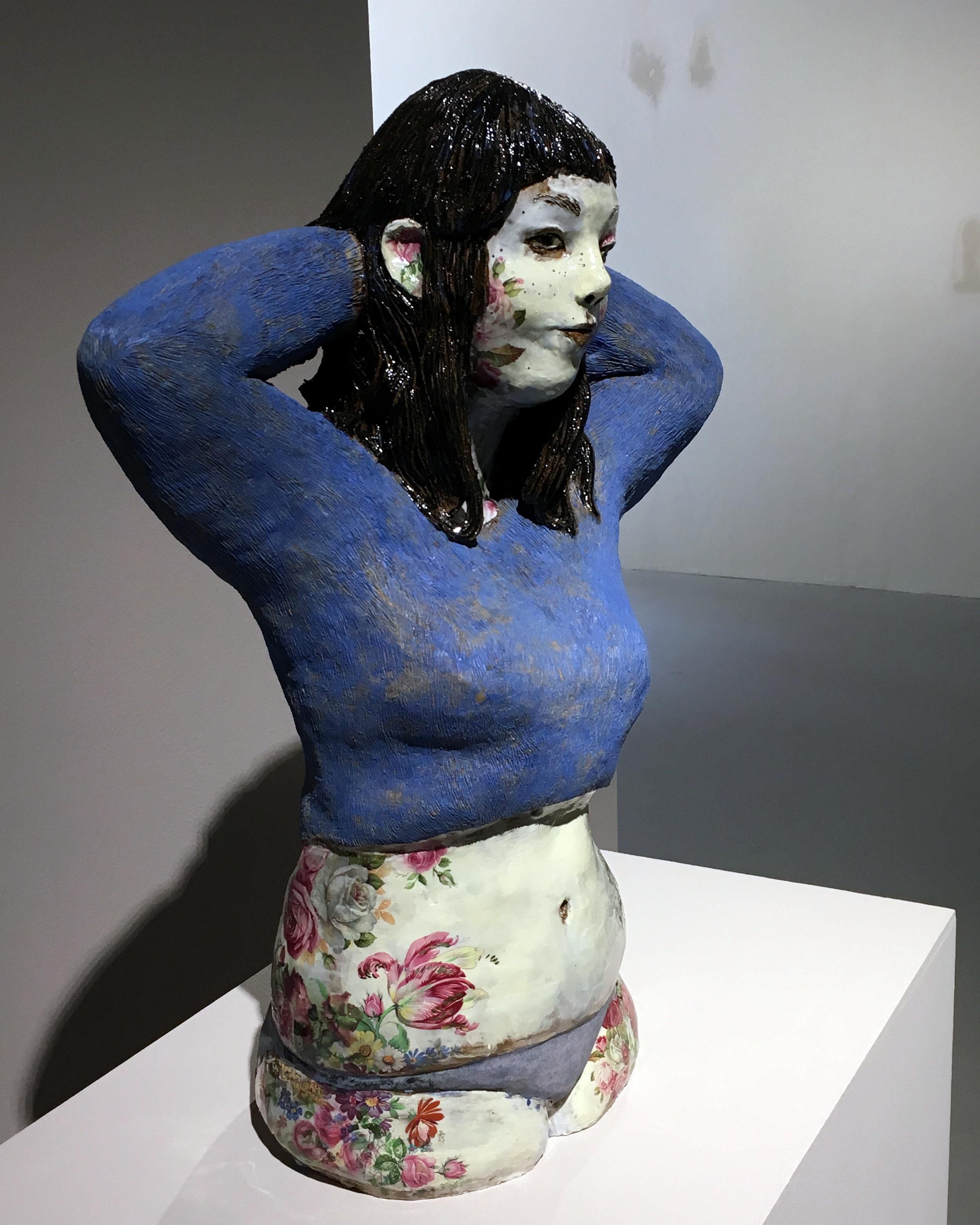 Blue blouse , Maisa Majakka, 2018.