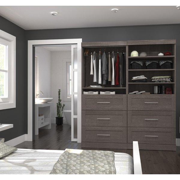 - Our closets are custom built to match your home and needs. We don't offer kit closets that were designed with someone else in mind.