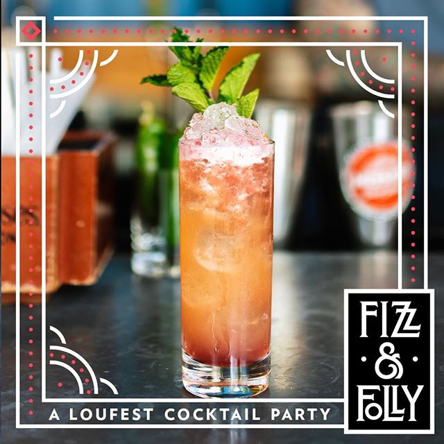 {T O N I G H T} @loufest #fizzandfolly pre party at @missiontacojoint Delmar! Kicks off at 4pm! 📸 @whiskeyandsoba
