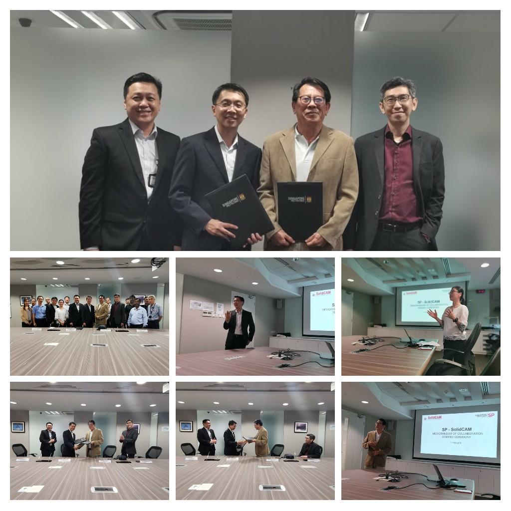 Memorandum of collaboration with Singapore polytechnic.