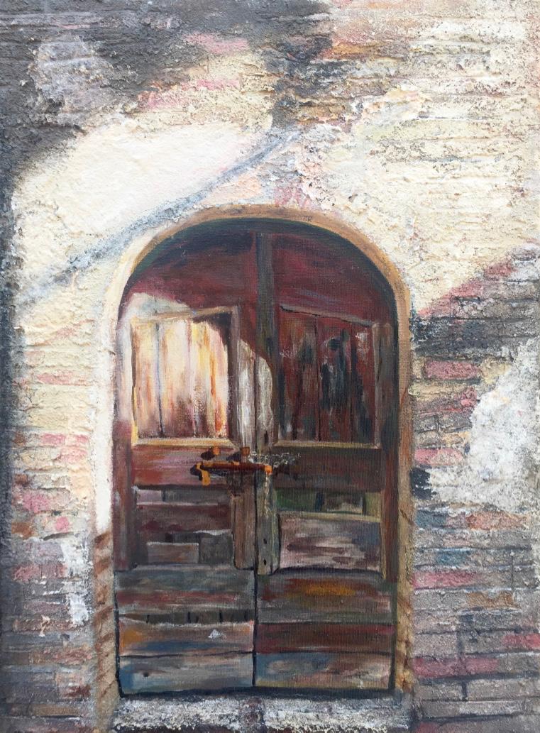 Deur San Gimignano