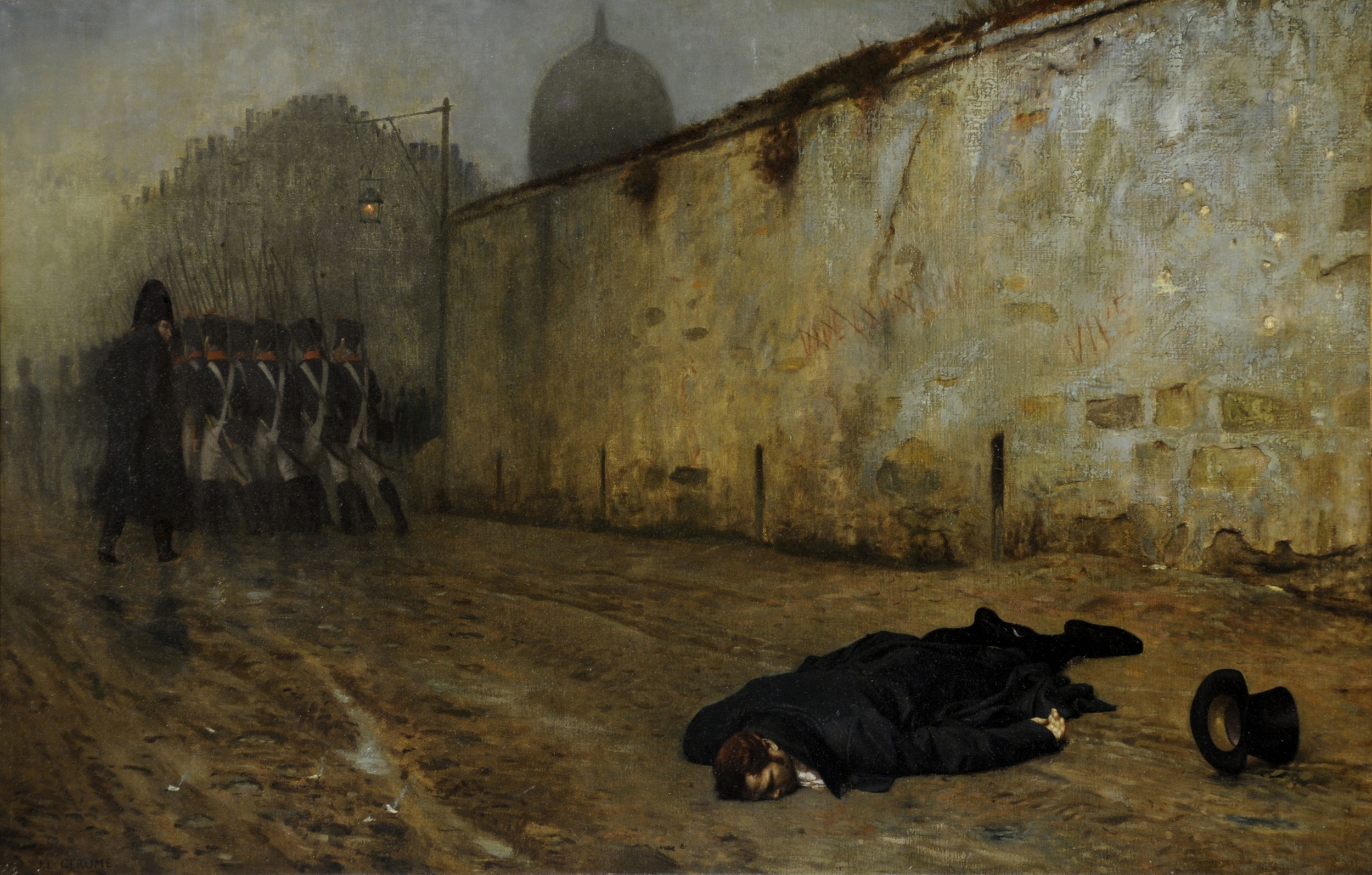 Gerome, Execution of Marshal Ney, for article.jpg