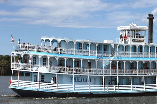 Twilight riverboat sailing - Wednesday, July 15 - Friday, July 17, 2020