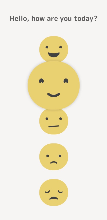 CHECK IN - With simple emojis you can share your emotions in real time, and over time this helps you stay connected to those who matter most!