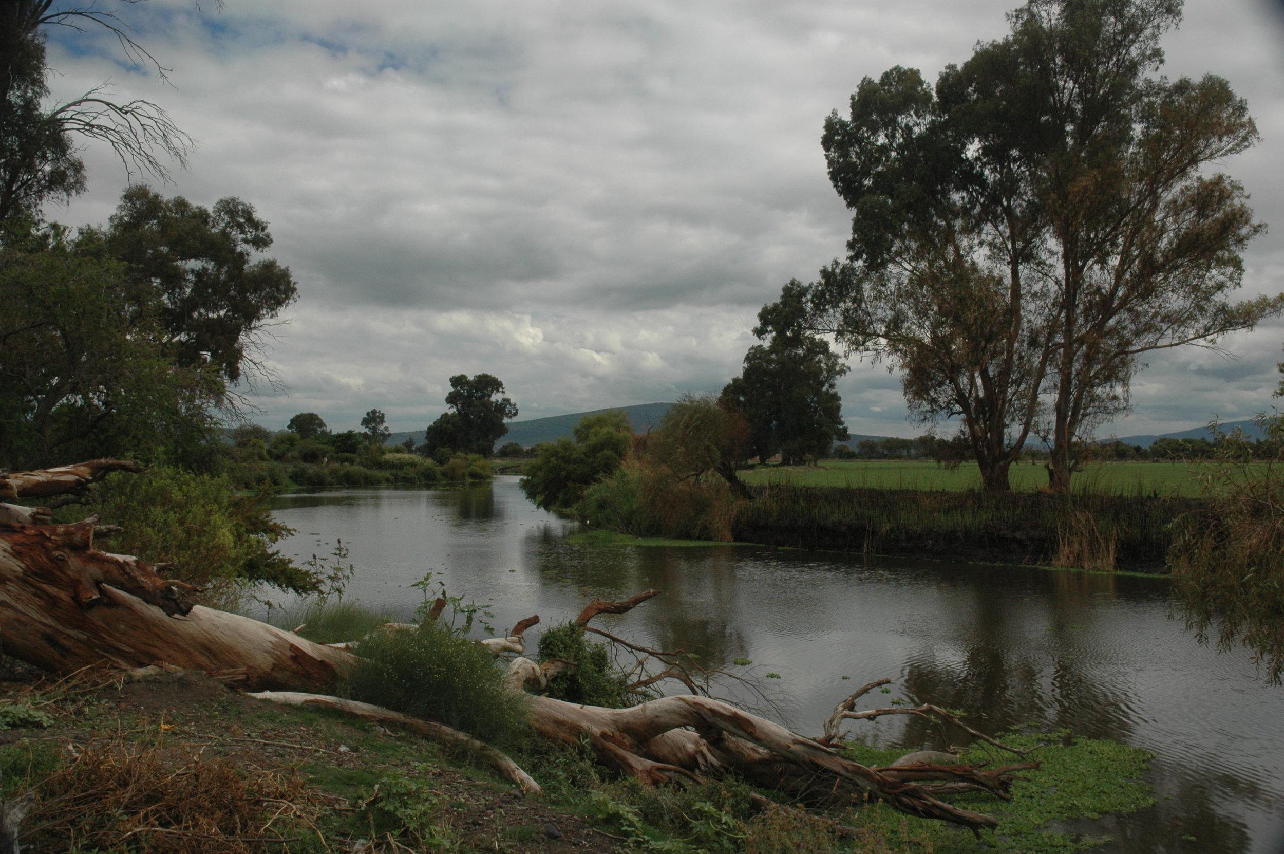 View of Laka Chapala's south shore