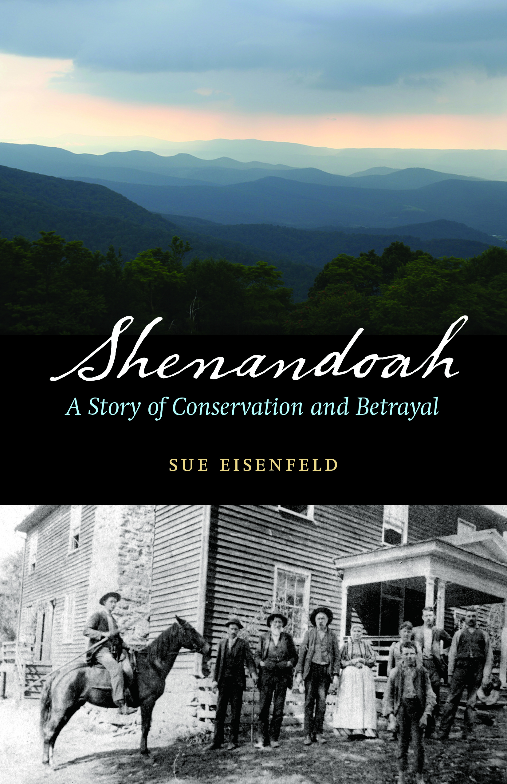 - Sue Eisenfeld is the author ofShenandoah: A Story of Conservation and Betrayal (University of Nebraska Press)-Sue is a contributing author to The New York Times' Disunion: A History of the Civil War (Oxford University Press)