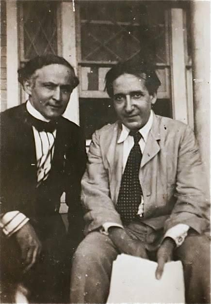 Houdini and Thurston (date unknown)