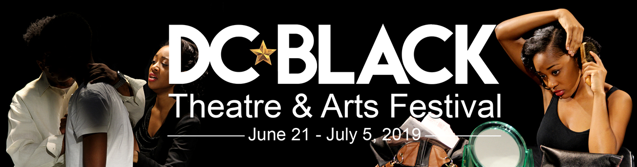 DC black theater and arts festival banner