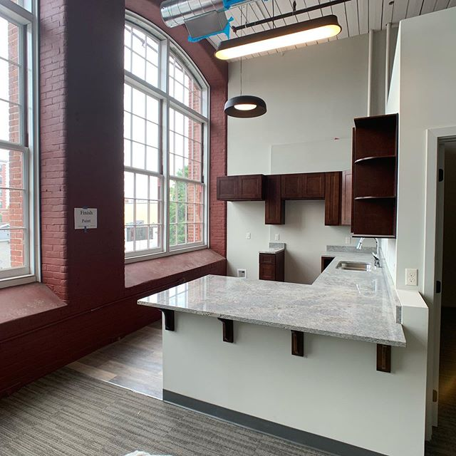 As soon as we get some appliances the model units for our #Pac10Lofts project will be ready! #housing #affordablehousing #architecture #historicpreservation #rehab #rehabilitation #oldmillbuilding #lawrencemassachusetts