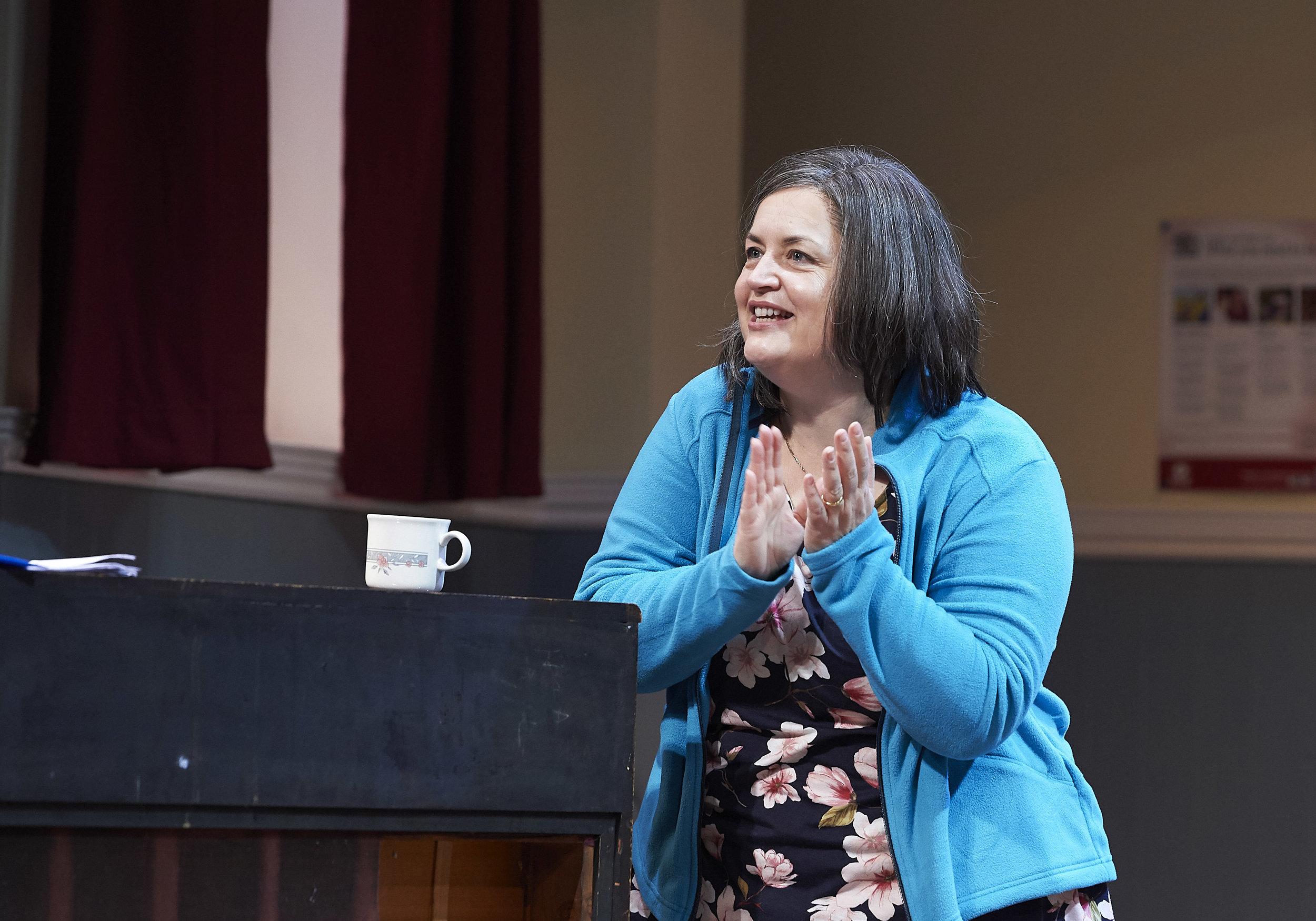 Ruth Jones at the Arts Theatre Cambridge in 'The Nightingales' through Saturday 17th November