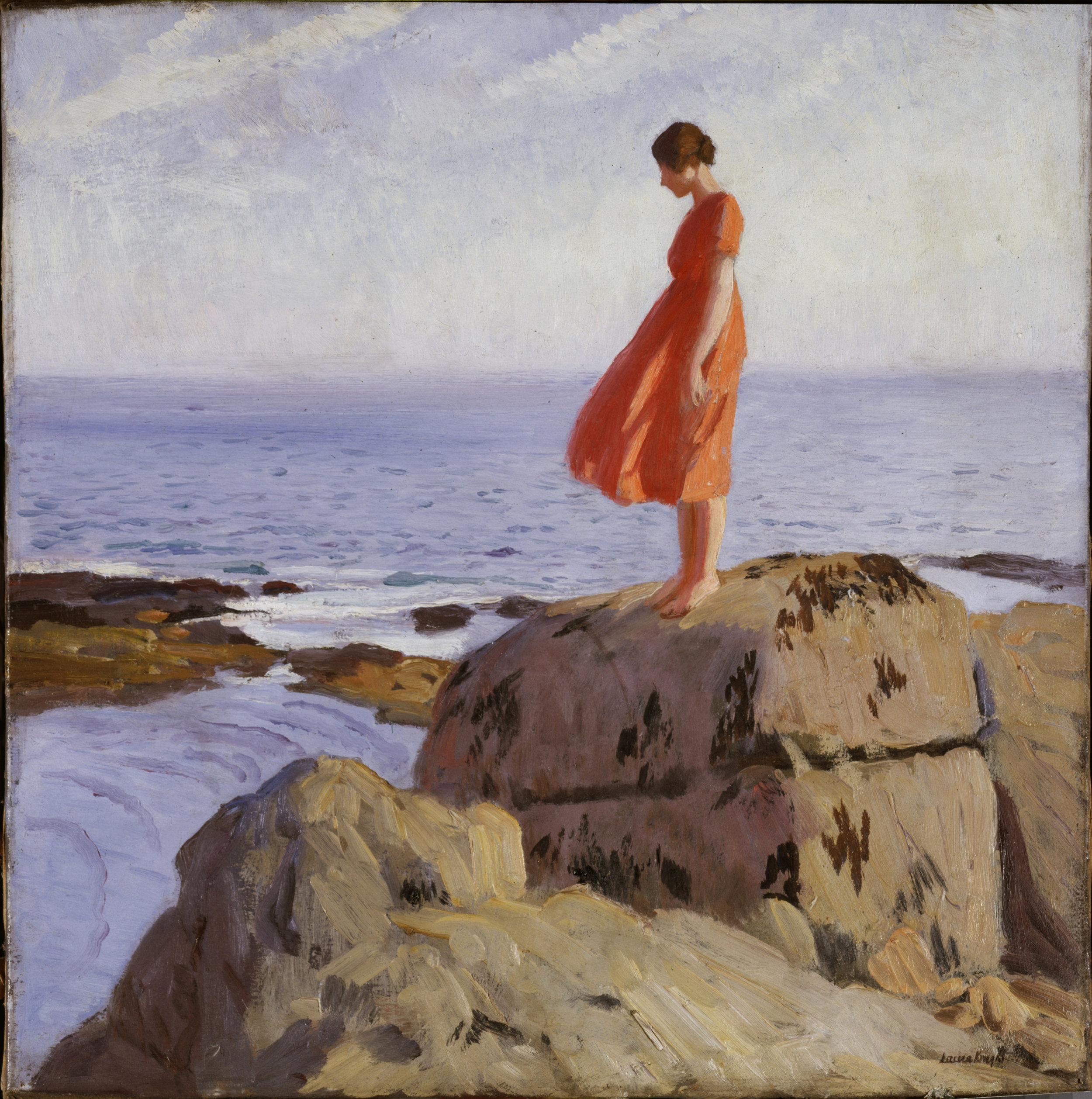 Laura Knight 'Dark Pool' courtesy of the Laing Gallery