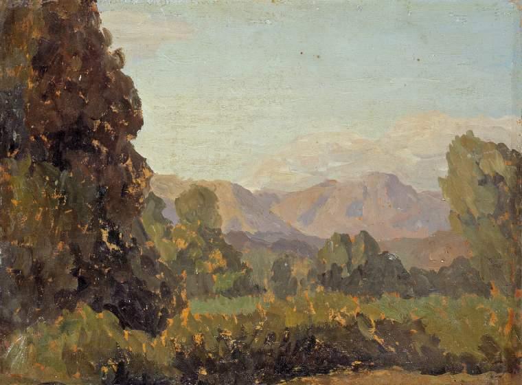Gwen Raverat, Mountain Scenery
