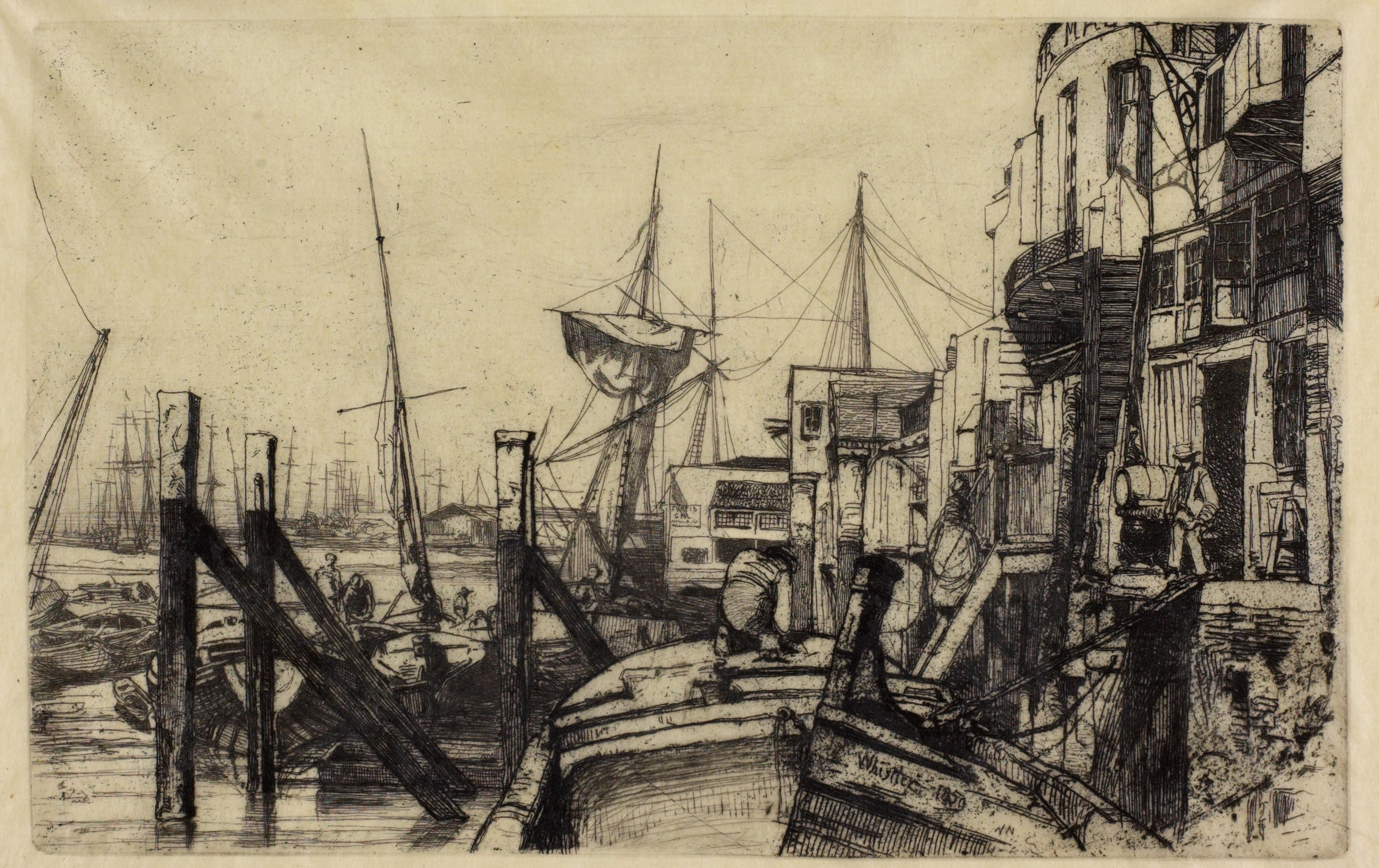 Limehouse 1859 Hunterian Art Gallery