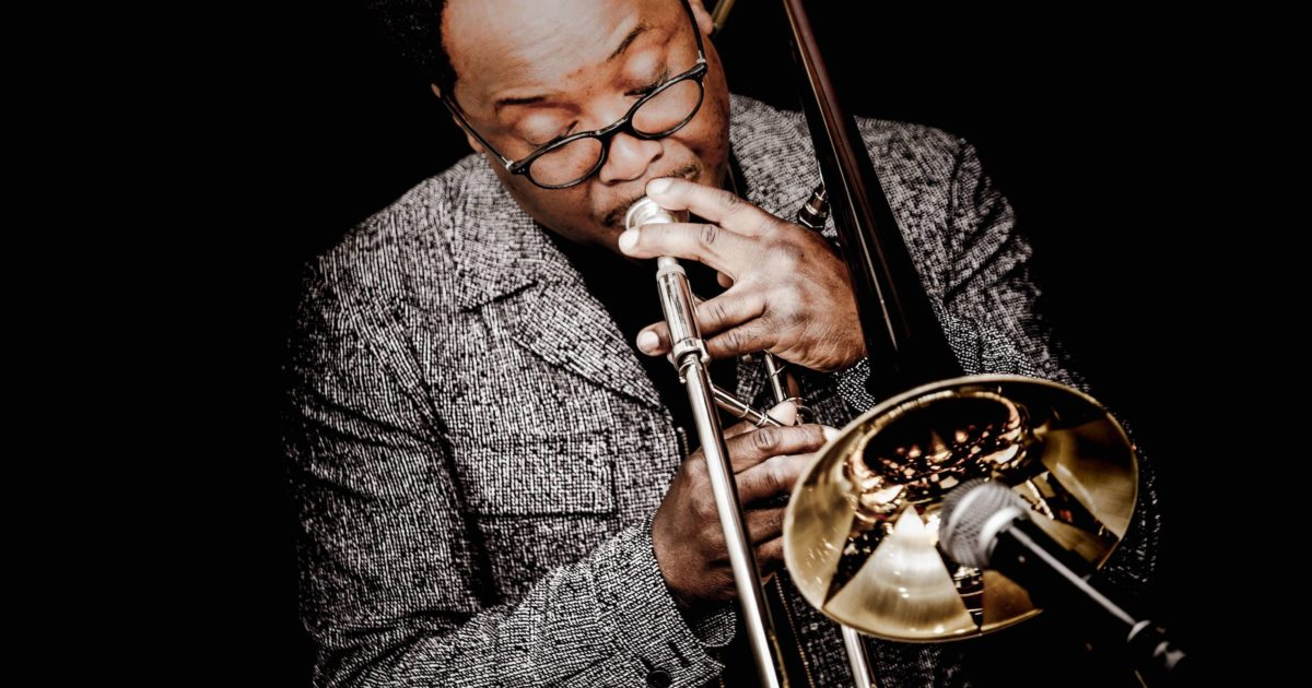 Dennis Rollins on Trombone with his Velocity Trio
