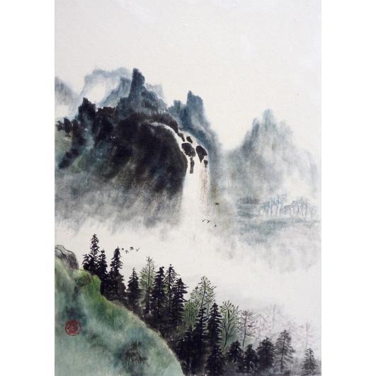 Waterfall in Japan