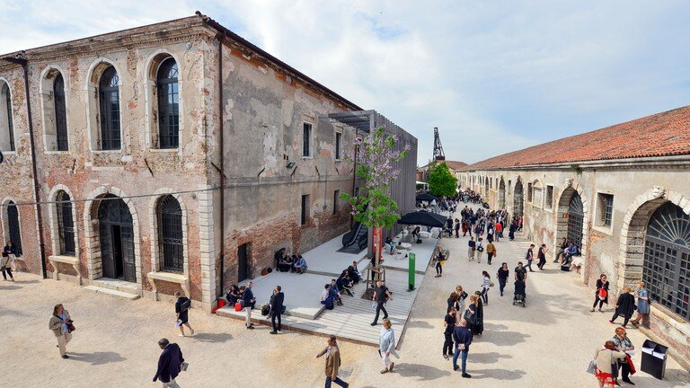 Arsenale, just one of the locations for the Venice Biennale