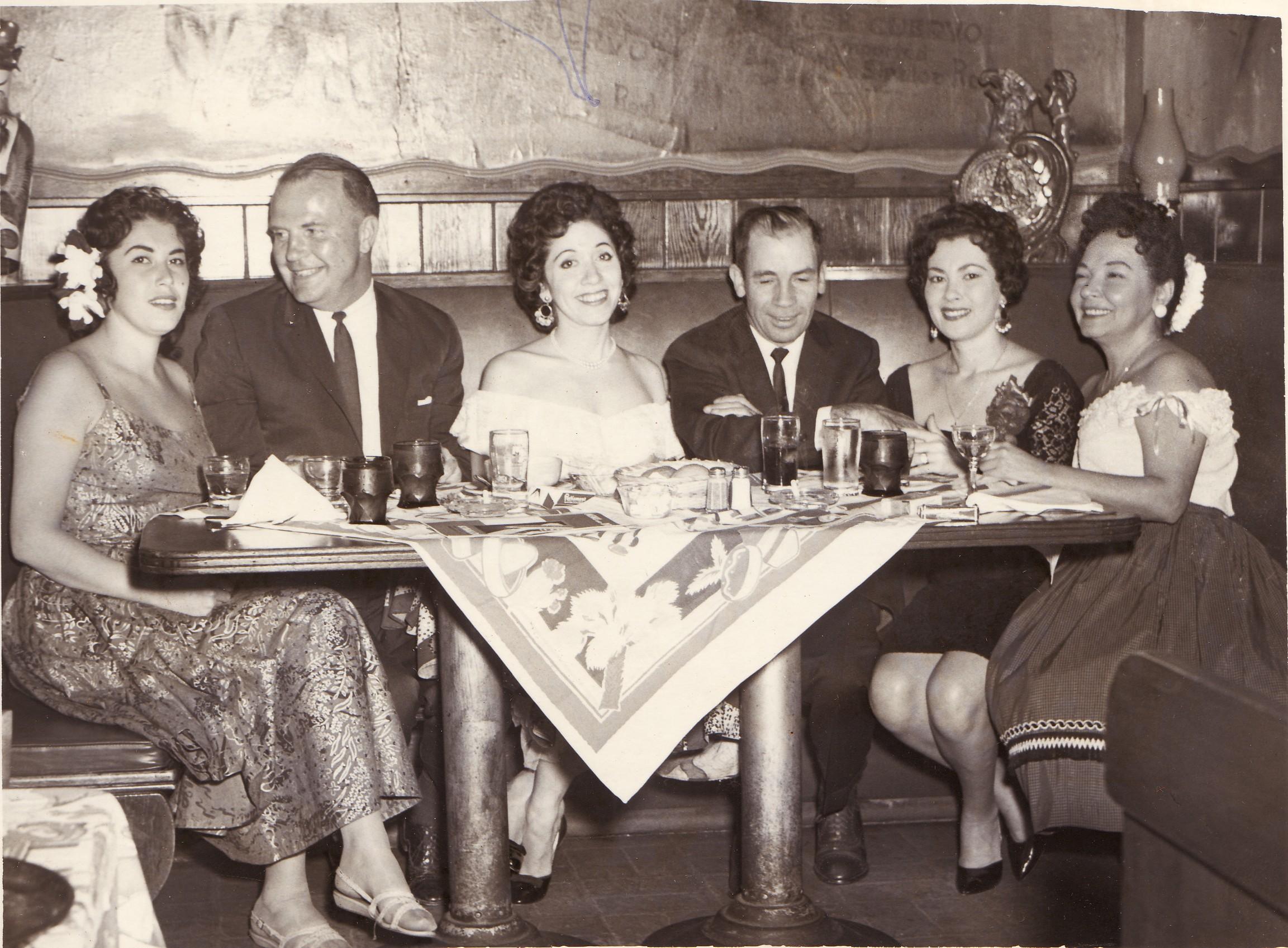 1960s ish-TC-Terri and friends at dinner.jpg