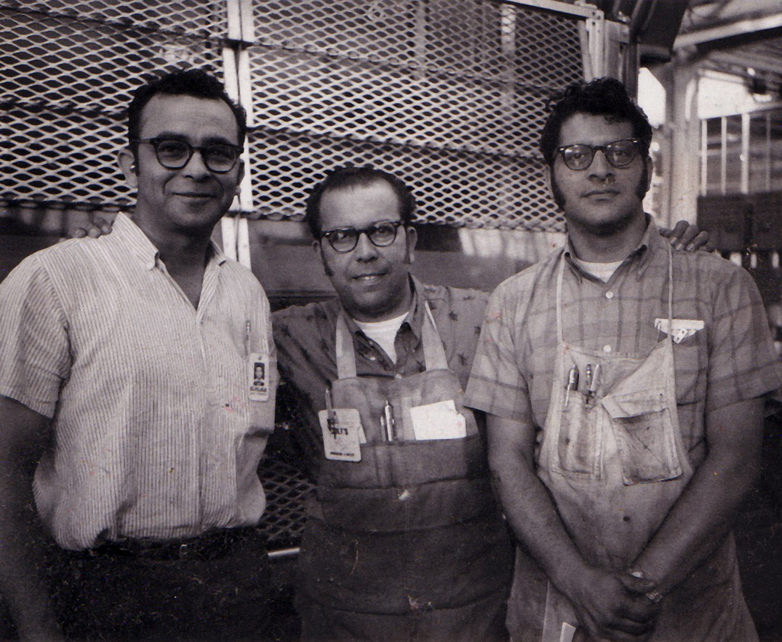 1969circa-Raul and Machinist Coworkers at shop_bigger.jpg