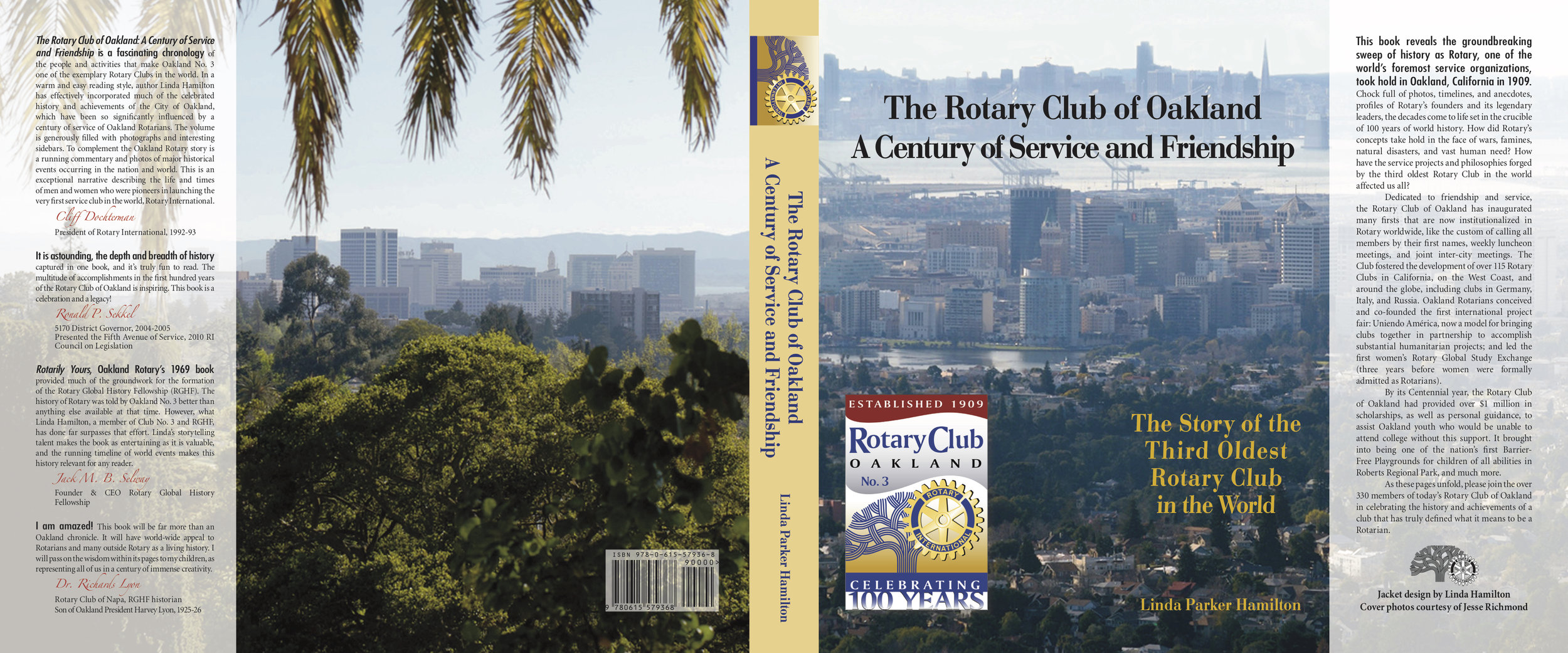 As an Oakland Rotarian, creating this book was near and dear to my heart! The Centennial book for the Rotary Club of Oakland tells the story not only of the club, but of the history of Rotary and the city of Oakland, California. New members receive the book when installed. Guest speakers receive the book as a gift. I'd love to help other Rotary clubs save their stories! Also, ask me about speaking to your Rotary Club, storytelling about Rotary and some of its amazing history. Do you know how the Four-Way Test was created?